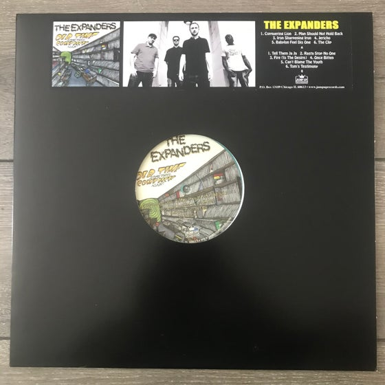 Image of The Expanders - Old Time Something Comeback Again Vinyl LP