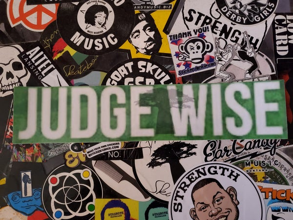 Image of Judge Wise Strength Tree Of Life Stay Focused stickers