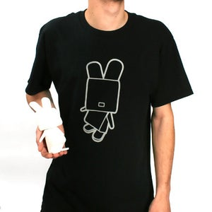 Image of LAPIN QBIQ TEE BLACK