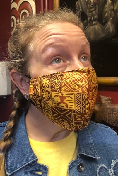 Image of Aulani Tapa Face Mask