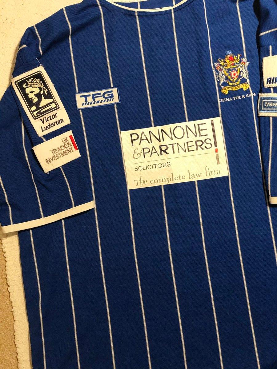 Image of Match Worn 2004 TFG China Tour Shirt