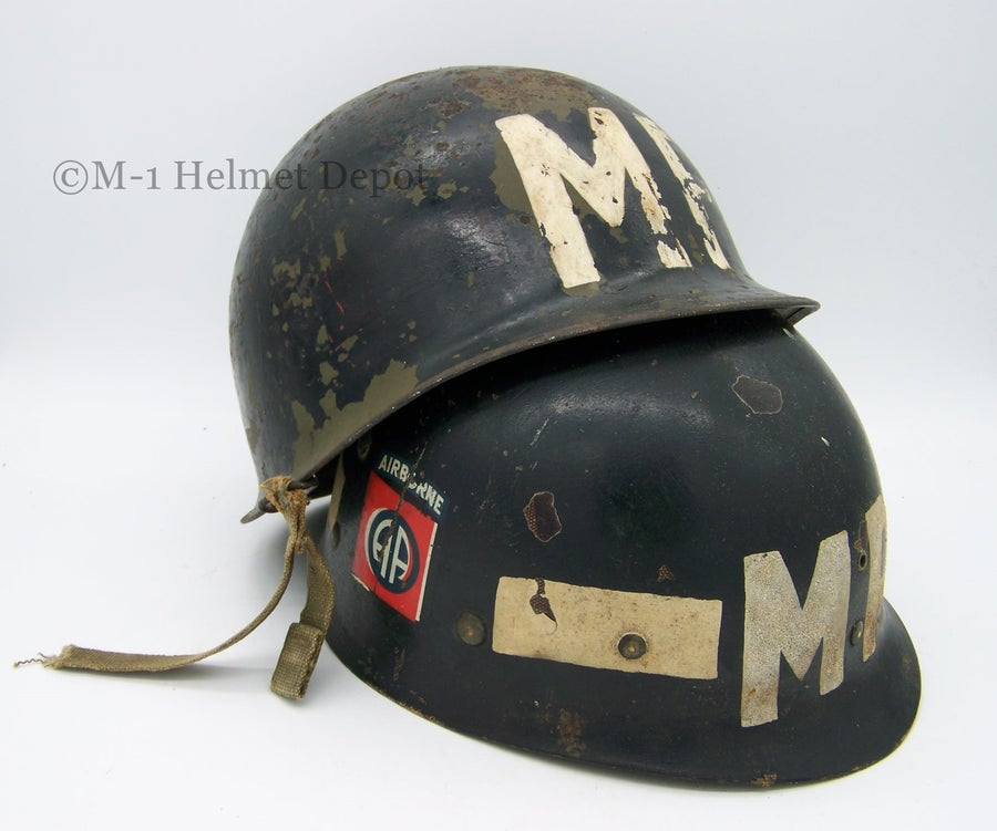 Image of 82nd AB M-1C MP helmet