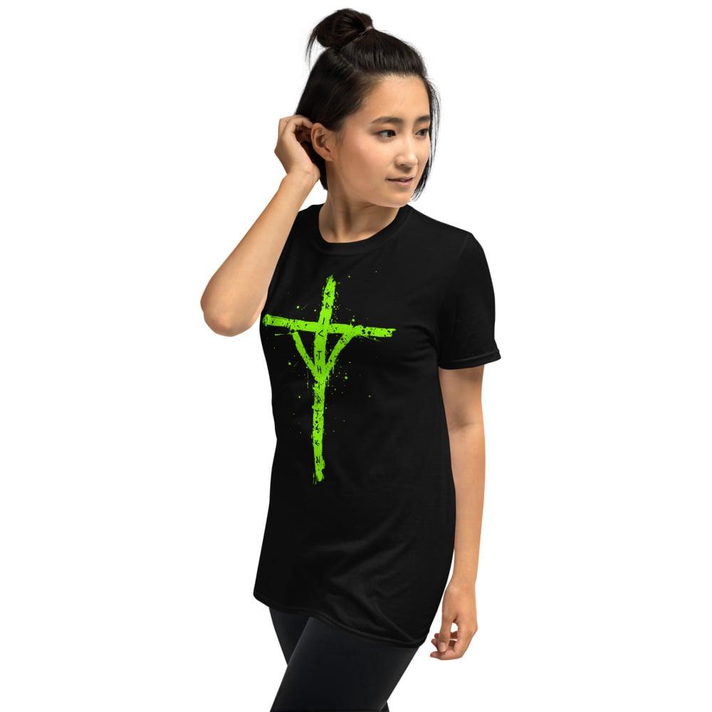 Image of SLIME GREEN HALLOWEEN RUNE T-Shirt