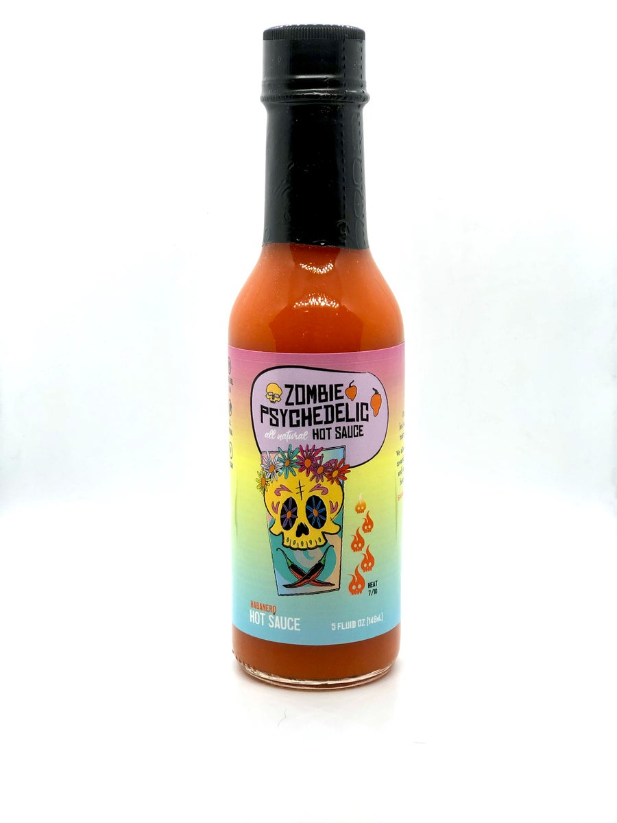 Image of *NEW ITEM* Zombie Psychedelic Hot Sauce