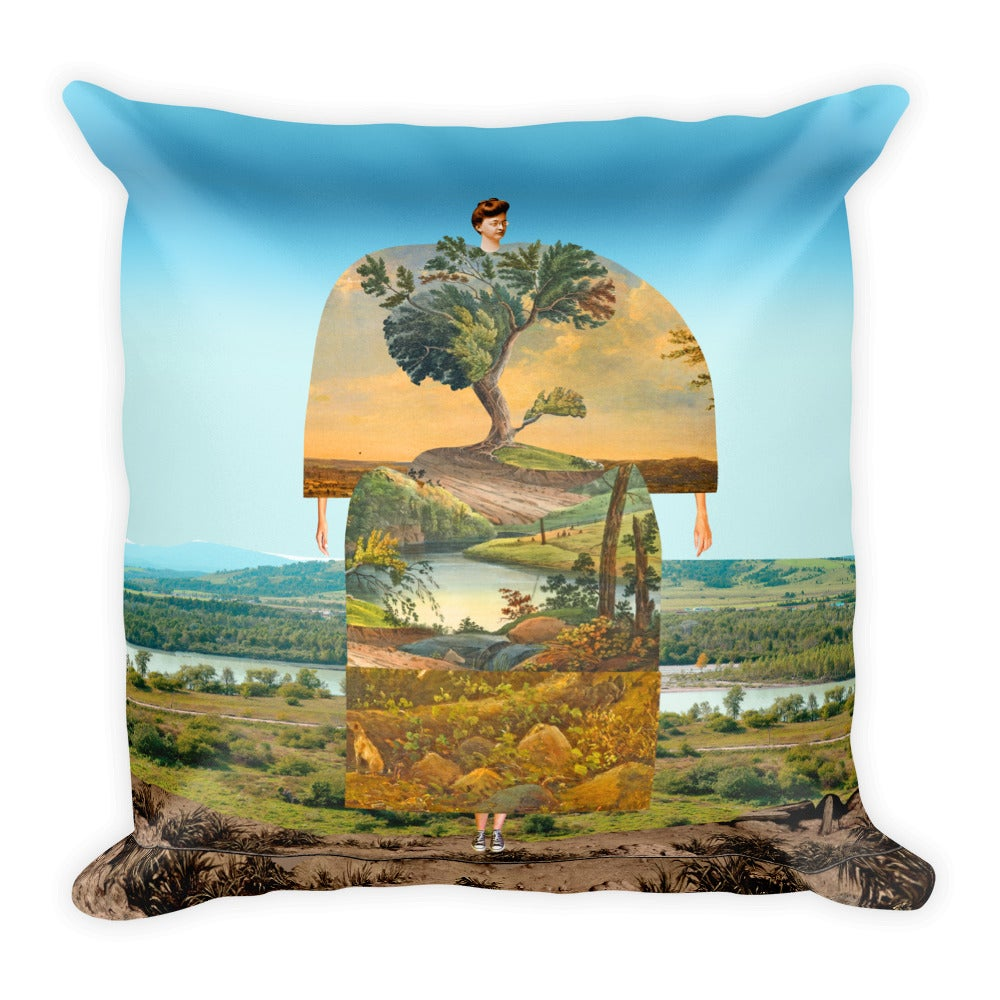 Image of Plate No.192 Throw Pillow