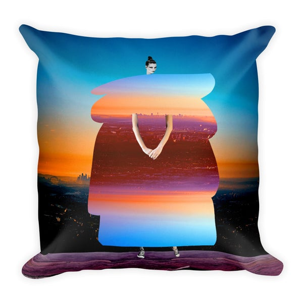 Image of Plate No.69 Throw Pillow