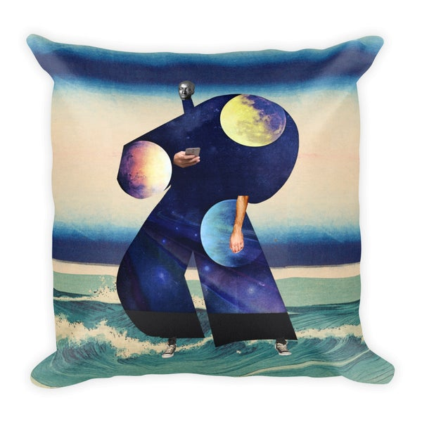Image of Plate No.113 Throw Pillow