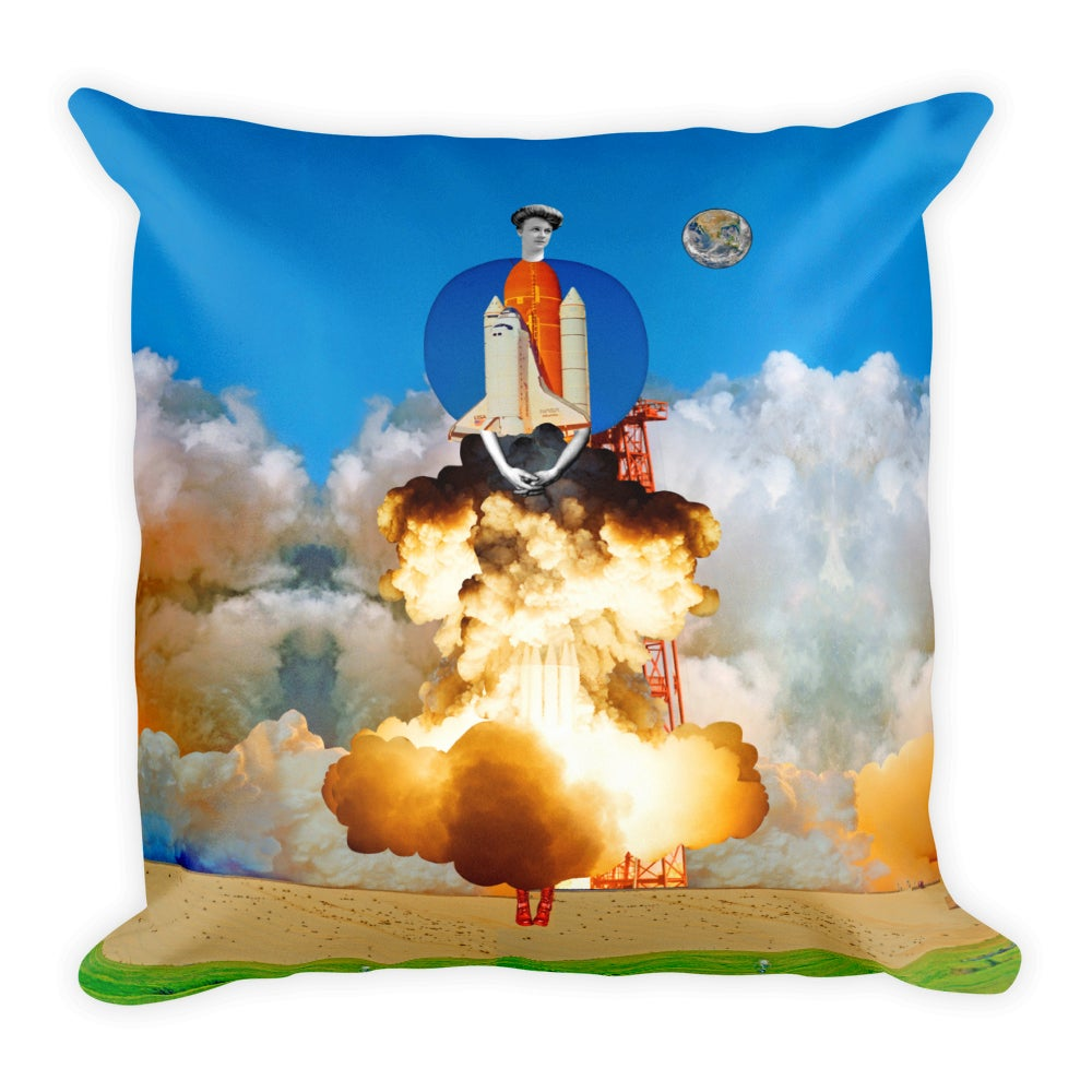 Image of Plate No.206 Throw Pillow