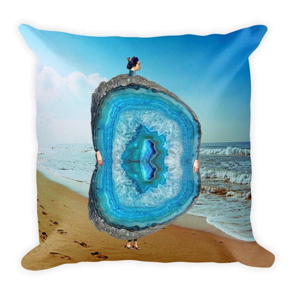 Image of Plate No.245 Throw Pillow