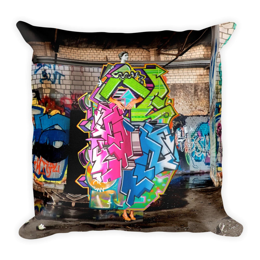 Image of Plate No.189 Throw Pillow