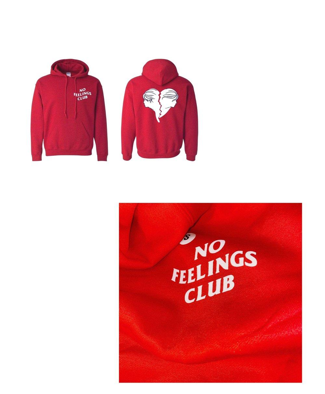 No Feelings Club Hoodies