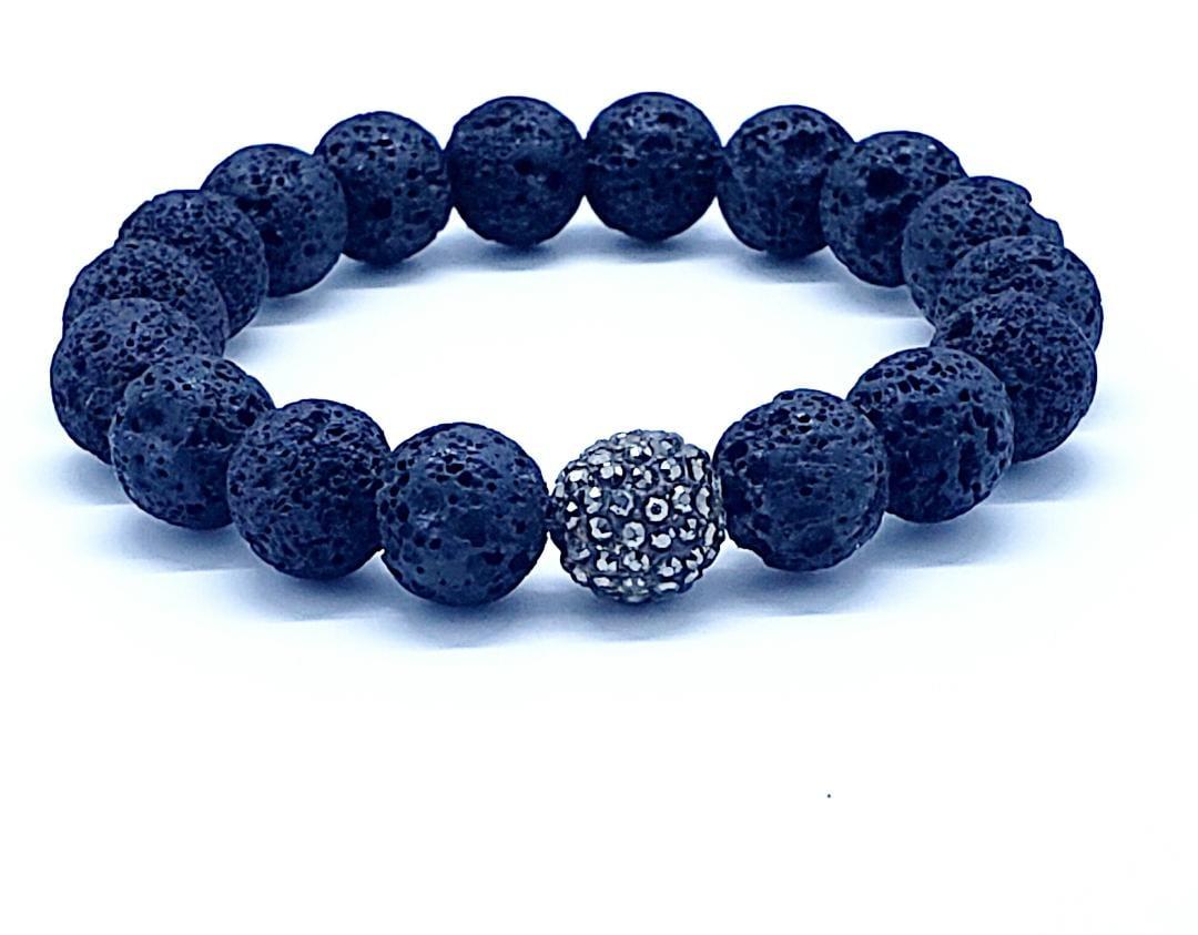 Image of Mens Lava bracelet