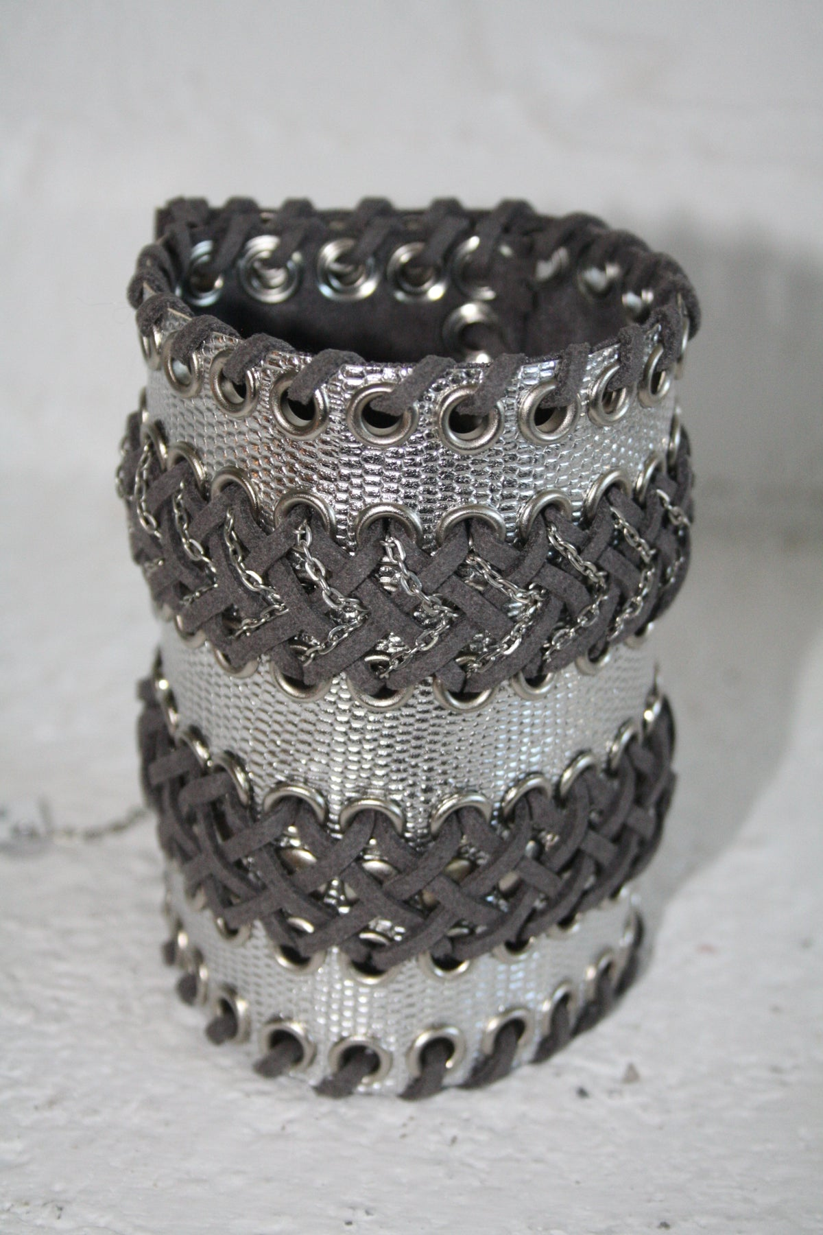 Image of Wide double cuff