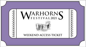 Image of Warhorns 2021 Weekend Ticket
