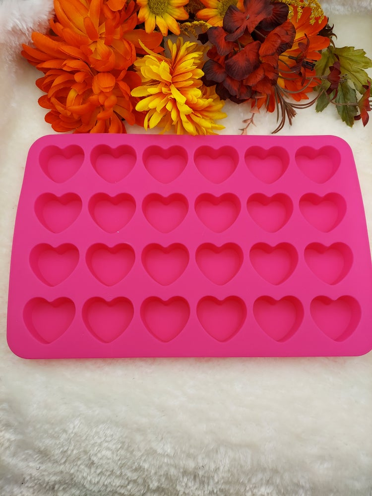 Image of Matte Heart Molds