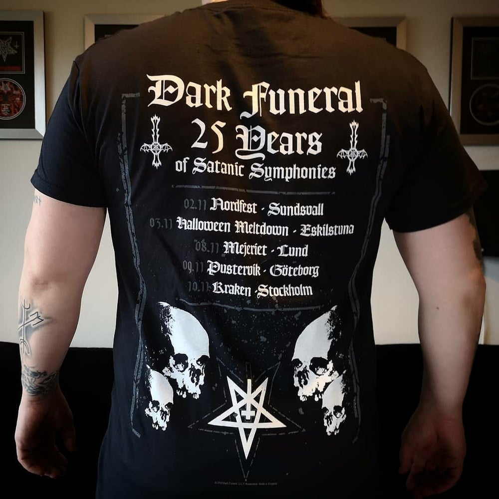 Dark Funeral '25 Years / Baphomet' T-Shirt