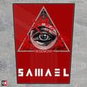 Samael Hegemony printed backpatch
