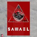 Samael Hegemony textile poster flag