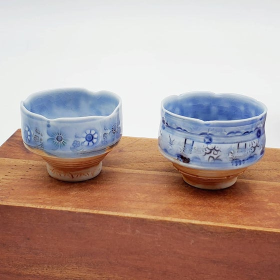 Image of Tiny Porcelain Haiku Bowls