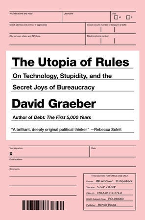 Image of The Utopia of Rules