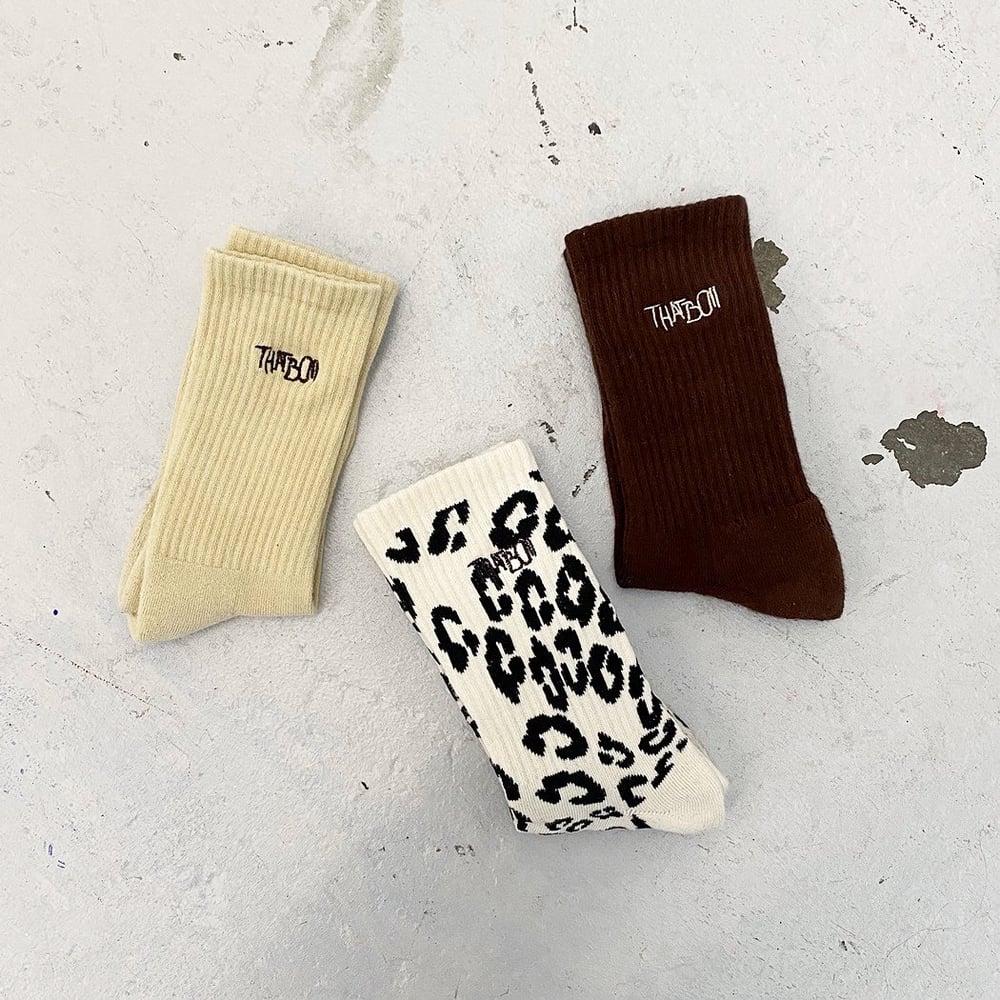 Image of THATBOII - safari tour socks