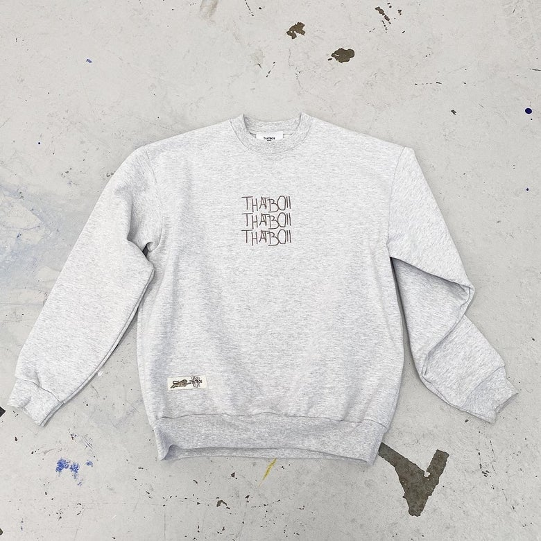 Image of THATBOII - heavy cotton sweater