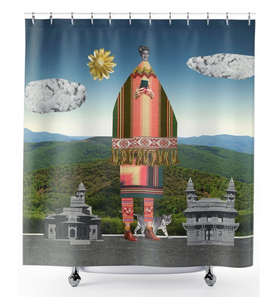Image of Plate No.11 Shower Curtain
