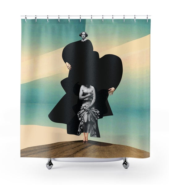 Image of Plate No.28 Shower Curtain