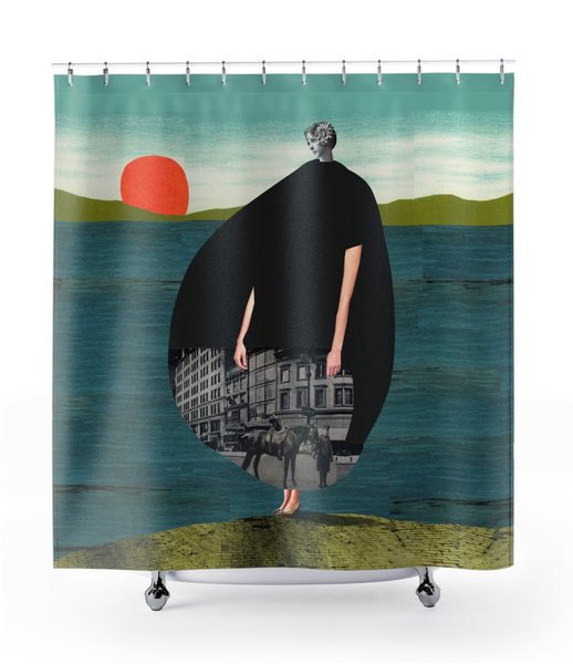 Image of Plate No.29 Shower Curtain