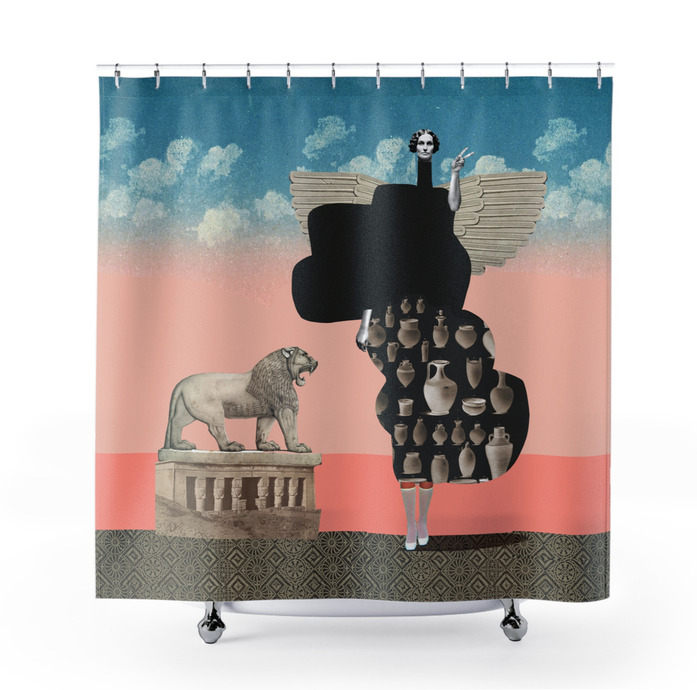 Image of Plate No.30 Shower Curtain