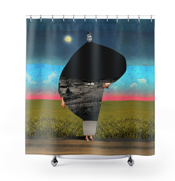 Image of Plate No.33 Shower Curtain