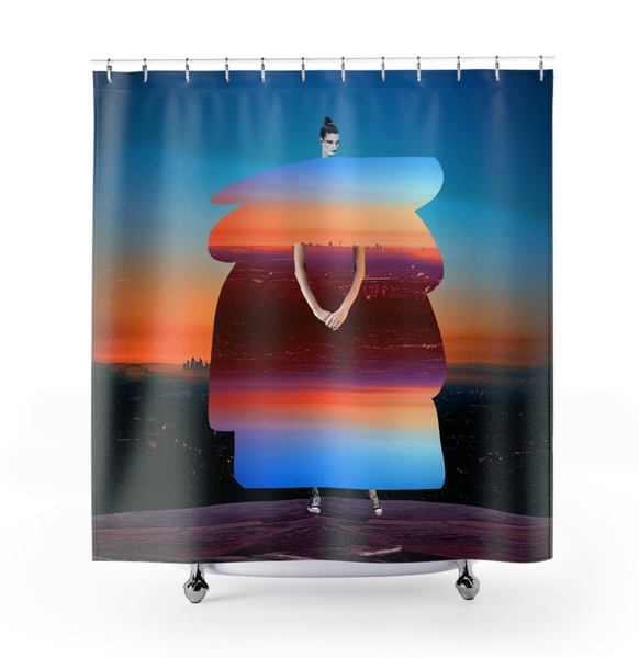 Image of  Plate No.69 Shower Curtain