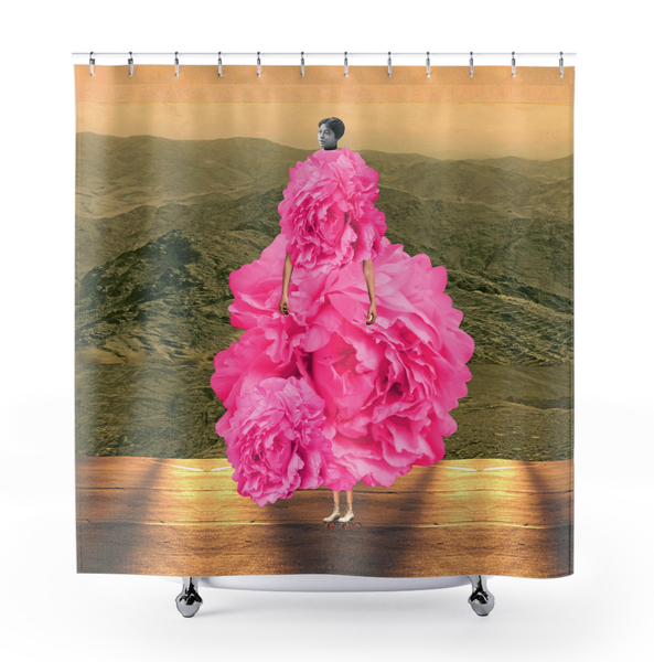 Image of Plate No.93 Shower Curtain