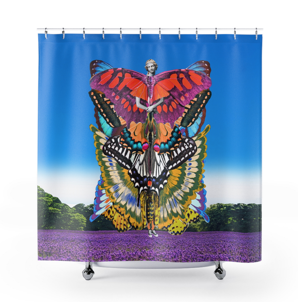 Image of Plate No.95 Shower Curtain