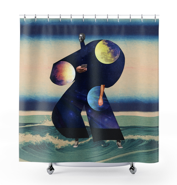 Image of Plate No.113 Shower Curtain