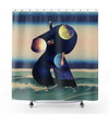 Plate No.113 Shower Curtain