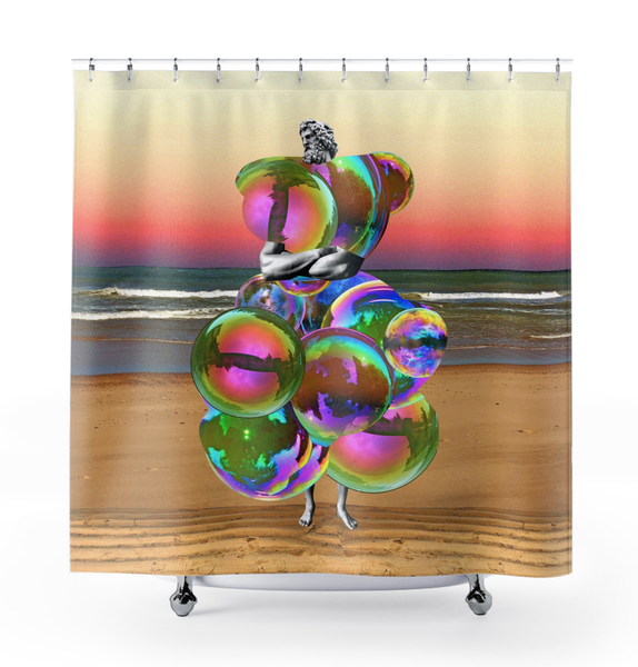 Image of Plate No.124 Shower Curtain