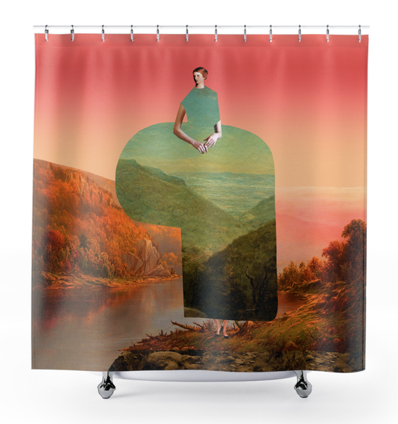 Image of Plate No.180 Shower Curtain