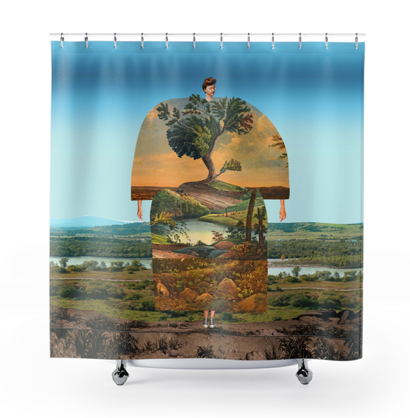 Image of Plate No.192 Shower Curtain