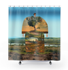 Plate No.192 Shower Curtain