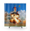 Plate No.206 Shower Curtain