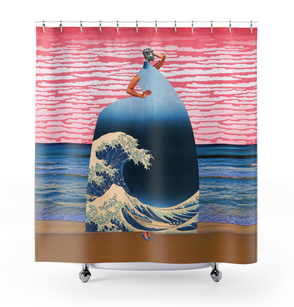 Image of Plate No.209 Shower Curtain