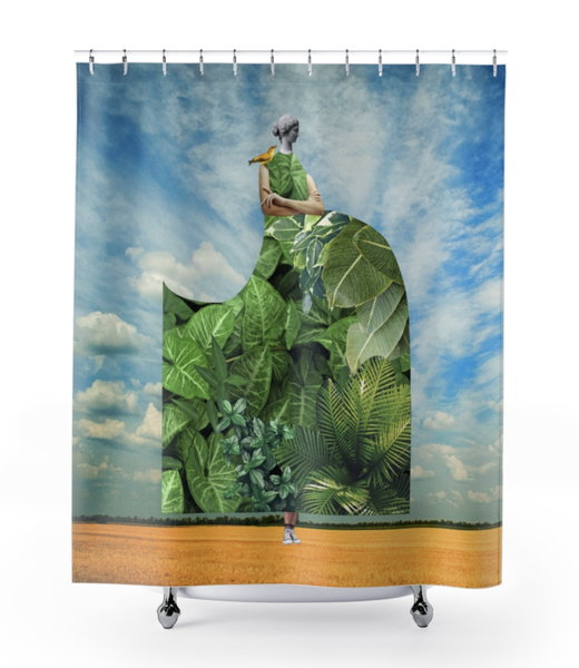 Image of Plate No.388 Shower Curtain