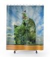 Plate No.388 Shower Curtain