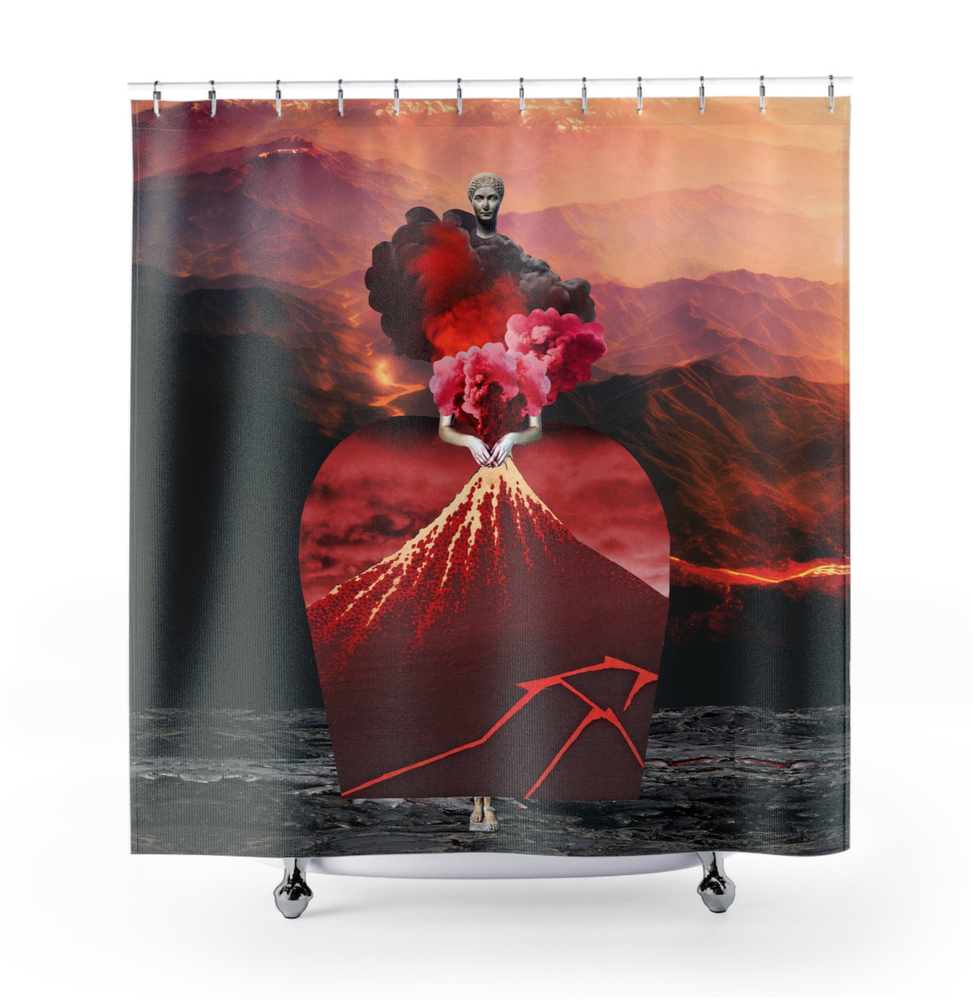 Image of Plate No.240 Shower Curtain