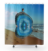 Plate No.245 Shower Curtain