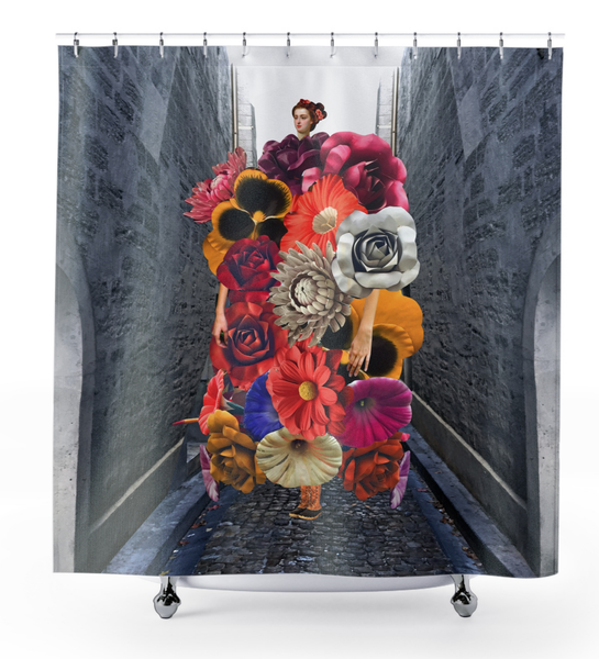 Image of Plate No.281 Shower Curtain
