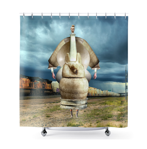 Image of Plate No.299 Shower Curtain