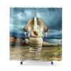Plate No.299 Shower Curtain