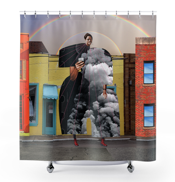 Image of Plate No.300 Shower Curtain